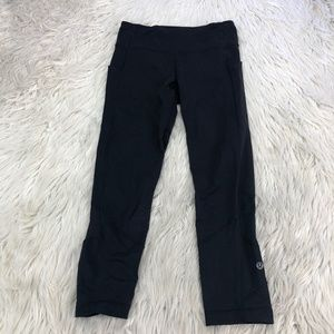 Lululemon Fast and Free Cropped Running Leggings
